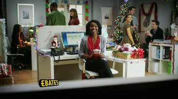 Ebates TV Spot, 'Secret Santa' - 386 commercial airings