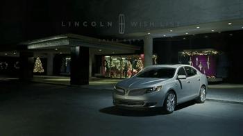 2013 Lincoln MKS TV Spot, 'Wish' - Thumbnail 5