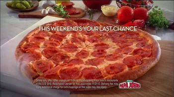 Papa John's Papa Rewards TV Spot, 'Last Chance' Featuring Peyton Manning - Thumbnail 4