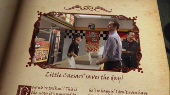 Little Caesars Pizza TV Spot, 'Seats Book' - Thumbnail 5