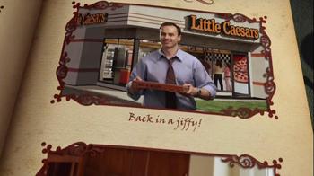 Little Caesars Pizza TV Spot, 'Seats Book' - Thumbnail 6