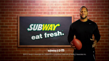 Subway Spicy Italian TV Spot Featuring Justin Tuck and Ndamukong Suh - Thumbnail 7