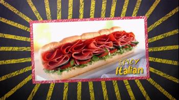 Subway Spicy Italian TV Spot Featuring Justin Tuck and Ndamukong Suh - Thumbnail 2