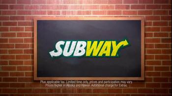 Subway Spicy Italian TV Spot Featuring Justin Tuck and Ndamukong Suh - Thumbnail 3