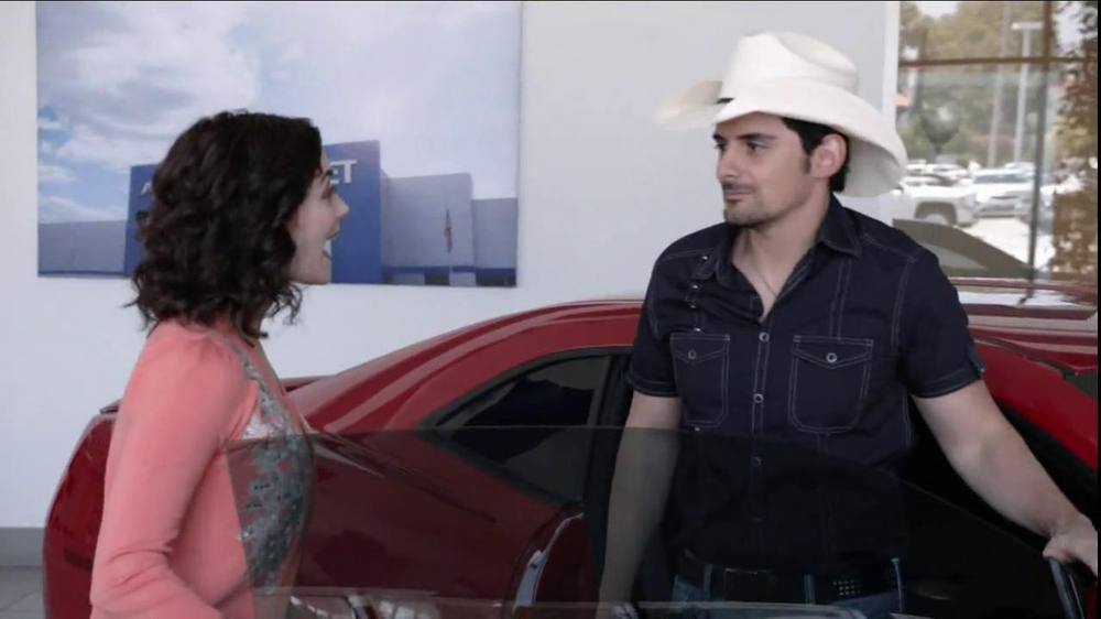 Chevrolet TV Commercial, 'Serenade' Featuring Brad Paisley