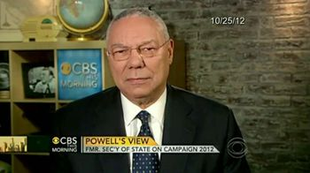 Obama for America TV Spot Featuring Colin Powell