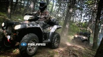 Polaris Holiday Sales Event TV Spot, 'Hunt, Farm, Trail' - Thumbnail 1