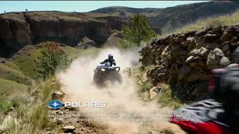 Polaris Holiday Sales Event TV Spot, 'Hunt, Farm, Trail' - Thumbnail 2