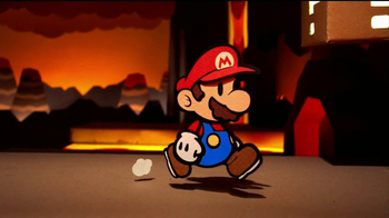 Paper Mario Sticker Star TV Spot, 'Paper Adventure'
