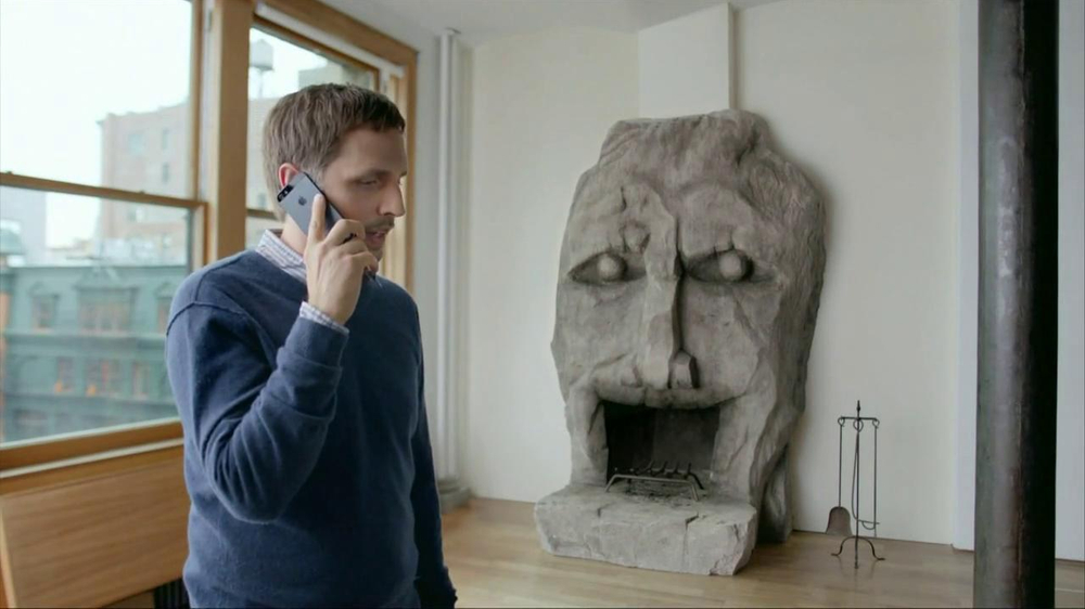 AT&T TV Commercial, 'Fireplace Face' - iSpot.tv