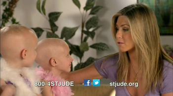 St. Jude Children's Research Hospital TV Spot Featuring Jennifer Aniston - Thumbnail 9