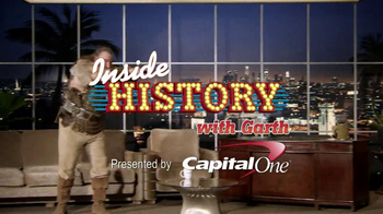 History Channel & Capital One TV Spot, 'Inside History with Garth: Caesar'