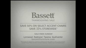 Bassett Thanksgiving Sale TV Spot '33% Off' - Thumbnail 6