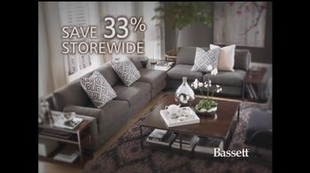 Bassett Thanksgiving Sale TV Spot '33% Off'