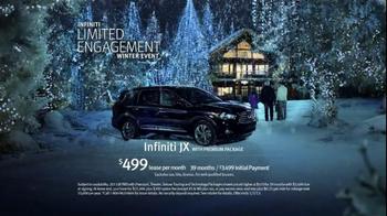 Infiniti JX TV Spot, 'Limited Engagement Winter Event' - Thumbnail 10