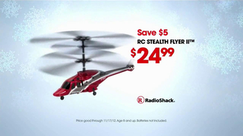 RC Toys at Radio Shack TV Spot, 'Helicopter' - Thumbnail 7