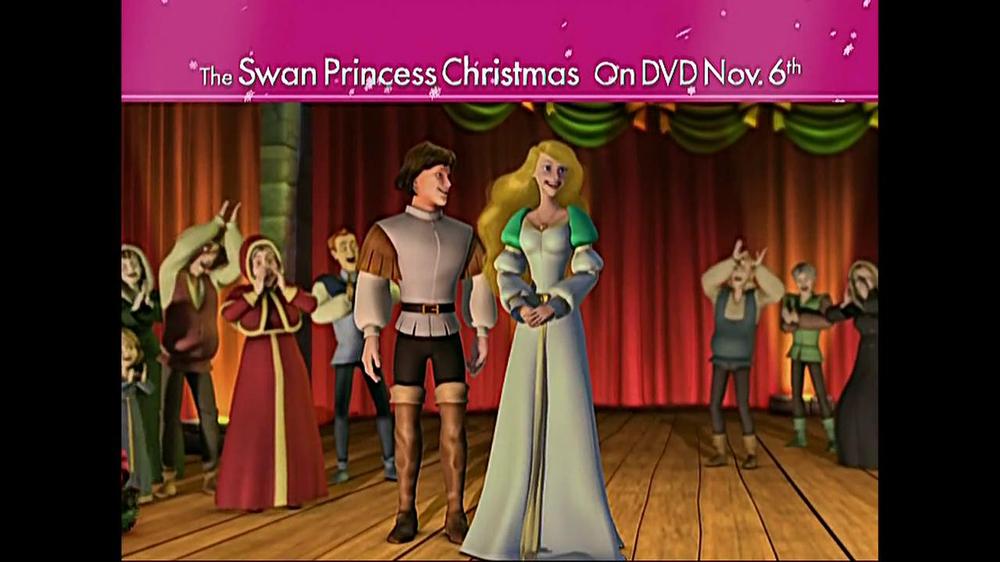 The Swan Princess Christmas.The Swan Princess Christmas Dvd Tv Commercial Video