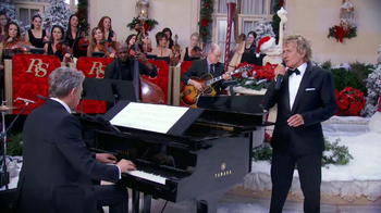 Rod Stewart Merry Christmas, Baby TV Spot