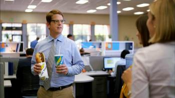Subway Steak & Bacon Melt TV Spot, 'Office Sharing' - Thumbnail 2