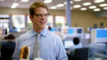 Subway Steak & Bacon Melt TV Spot, 'Office Sharing' - Thumbnail 3