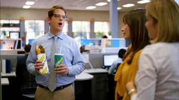 Subway Steak & Bacon Melt TV Spot, 'Office Sharing' - Thumbnail 6