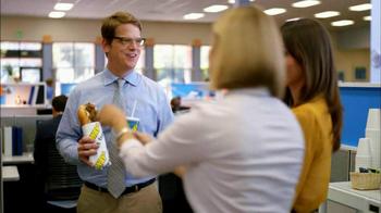 Subway Steak & Bacon Melt TV Spot, 'Office Sharing' - Thumbnail 7
