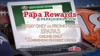 Papa John's Night TV Spot, Featuring Peyton Manning - Thumbnail 5