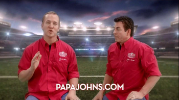Papa John's Night TV Spot, Featuring Peyton Manning - Thumbnail 6
