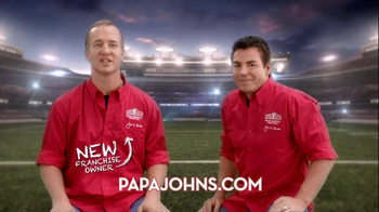 Papa John's Night TV Spot, Featuring Peyton Manning - Thumbnail 7