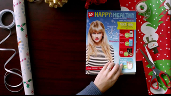 Walgreens Happy and Healthy Magazine TV Spot, 'Taylor Swift'