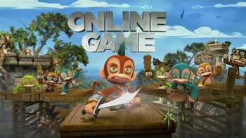 Monkey Quest TV Spot, 'Online World' - Thumbnail 8