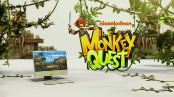 Monkey Quest TV Spot, 'Online World' - Thumbnail 9