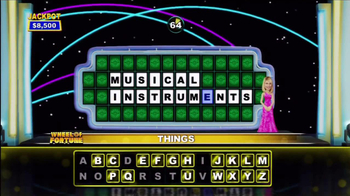 Wheel of Fortune Video Game TV Spot, 'Spin the Wheel' - Thumbnail 5