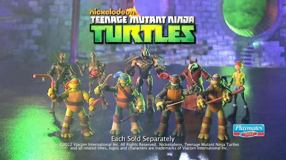 Teenage Mutant Ninja Turtles Action Figures TV Spot