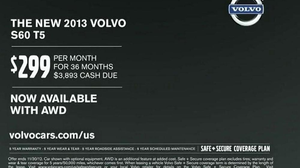 2013 Volvo S60 T5 TV Commercial, 'Little Red Riding Hood' - iSpot.tv
