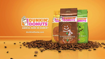 Dunkin' Donuts Holiday Flavors TV Spot
