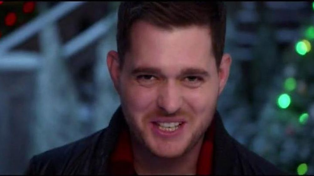 michael buble christmas tv commercial ispottv