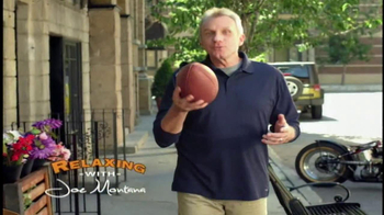 Skechers Relaxed Fit Shoes TV Spot, 'Relaxing' Featuring Joe Montana - Thumbnail 2
