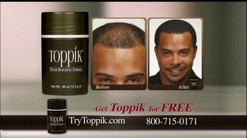 Toppik Hair Building Fibers TV Spot Featuring Bruce Boxleitner - Thumbnail 5