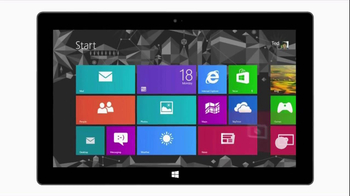 Microsoft Surface TV Spot, 'All the Apps' - Thumbnail 5