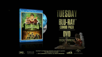 ParaNorman Blu-Ray and DVD TV Spot