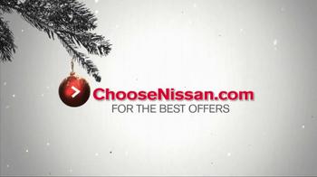 Nissan Season to Save TV Spot, 'Holiday Bonus Cash' - Thumbnail 6