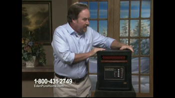 EdenPURE Personal Heater TV Spot, 'Winter' Featuring Richard Karn - Thumbnail 9