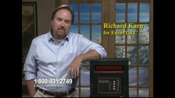 EdenPURE Personal Heater TV Spot, 'Winter' Featuring Richard Karn - 3 commercial airings