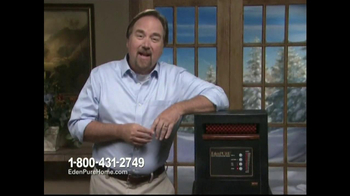 EdenPURE Personal Heater TV Spot, 'Winter' Featuring Richard Karn - Thumbnail 3
