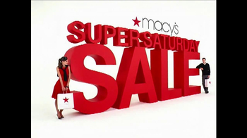 Macy's Super Saturday TV Spot - 163 commercial airings