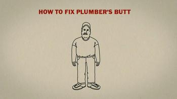 Duluth Trading TV Spot 'Plumbers Butt' - Thumbnail 3