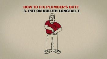 Duluth Trading TV Spot 'Plumbers Butt' - Thumbnail 5