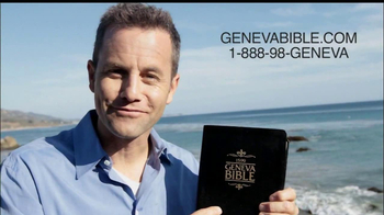 Geneva Bible TV Spot, 'Changed the World' Featuring Kirk Cameron