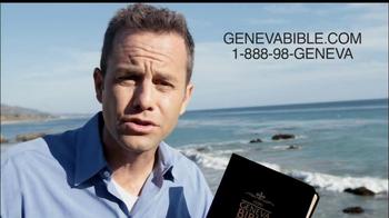 Geneva Bible TV Spot, 'Changed the World' Featuring Kirk Cameron - Thumbnail 3